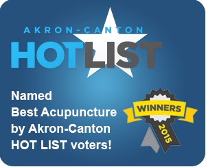 Vahila Acupuncture and Massage Therapy named Best Acupuncture by Akron-Canton HOT LIST voters