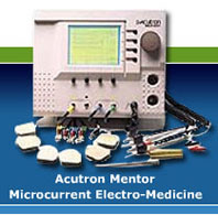 Non-needle acupuncture - microcurrent electro medicine